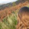 Self portrait, in the hills of the West Highland Way in Scotland. October 14 2009.