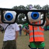 My favourite costume from the Secret Garden Party that year. July 25 2009.