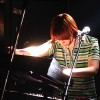 Keyboardist for London band The Chap, performing at Barfly in Camden, London. June 30 2006.